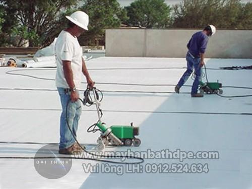 máy hàn màng nhựa PVC/TPO chống thấm dột LSTWP1