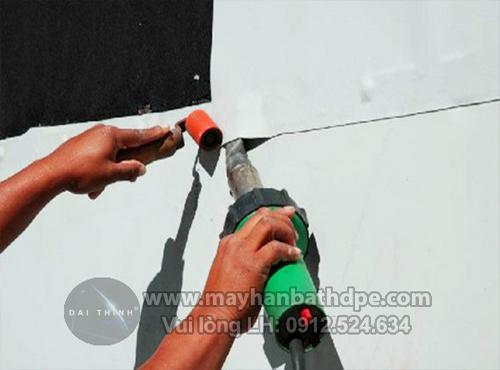 máy hàn màng chống thấm dột máy hàn nhựa cầm tay DSHXA