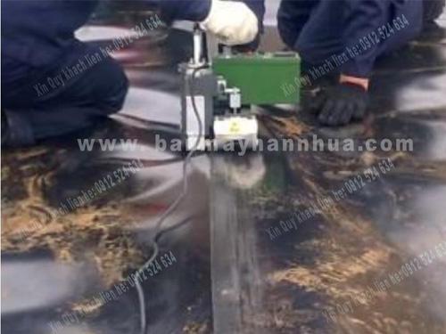 LSTGM1 máy hàn bạt HDPE chống thấm ao nuôi tôm