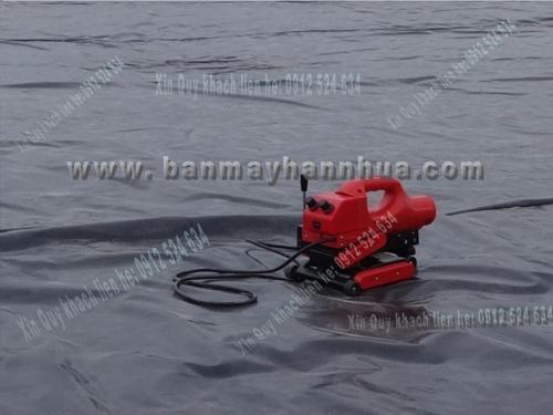 RFT501 Máy ép bạt HDPE ao tôm tốt nhất.