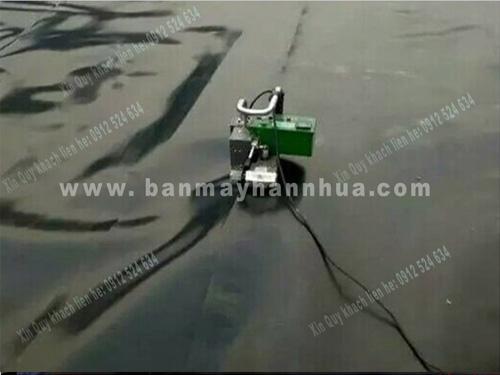 Máy hàn bạt nhựa LST900 hàn màng chống thấm, vải địa kỹ thuật chống thấm ao hồ chứa nước