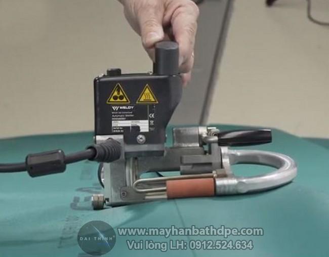 Weldy GEO2 mini máy hàn bạt nhựa PVC