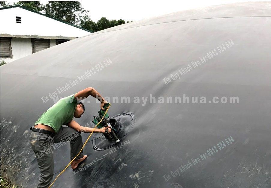 Máy hàn đùn lst600b hàn tấm nhựa, ống nhựa