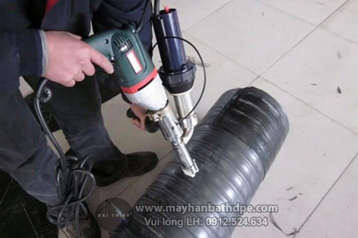Máy hàn đùn Toplink hàn ống nhựa HDPE