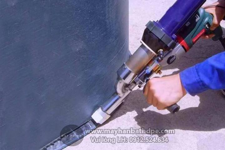 Máy hàn đùn Toplink hàn ống nhựa, bồn bể nhựa.