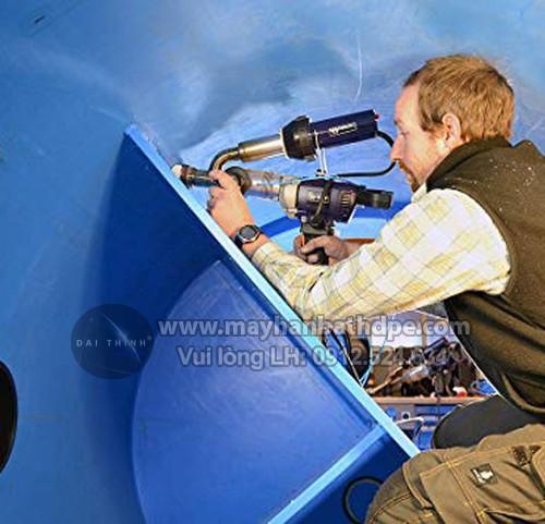 Máy hàn đùn Weldy Booster EX2 hàn bồn bể nhựa