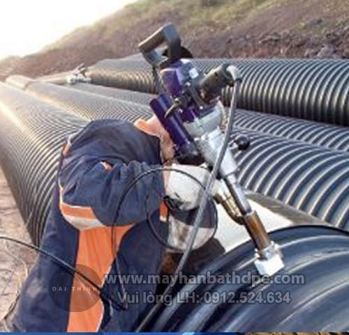 Máy hàn đùn Weldy Booster EX3 hàn ống nhựa HDPE