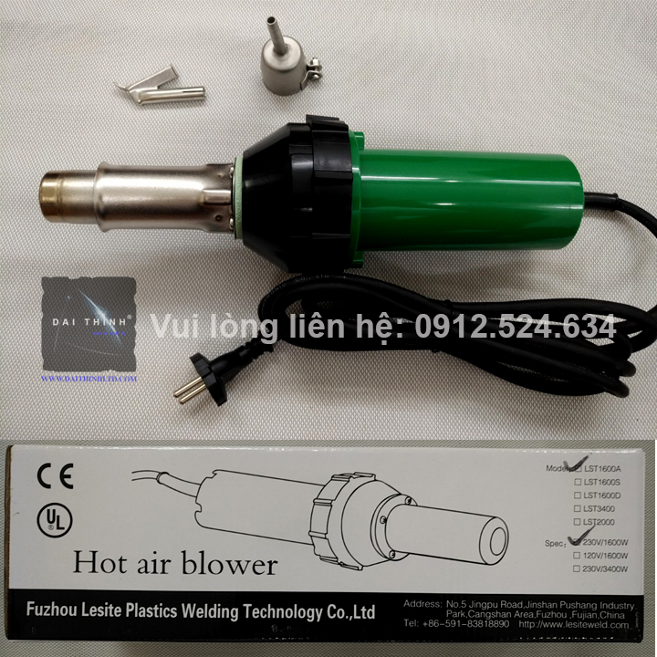 Bộ máy hàn ống nhựa tấm nhựa, hàn sàn nhựa LST1600W