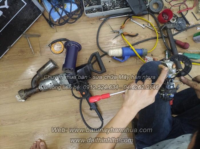 Sửa chữa bảo dưỡng máy hàn đùn Weldy Booster EX2 Uy tín - Chất lượng
