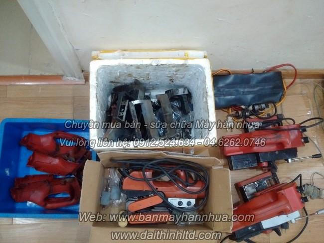 Sửa chữa bảo dưỡng máy hàn bạt nhựa HDPE - máy ép bạt ao tôm