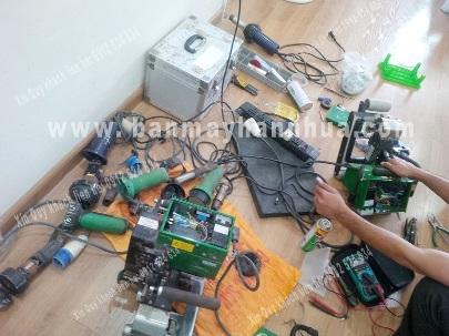Sửa chữa, bảo dưỡng máy hàn bạt HDPE model LSTGM1