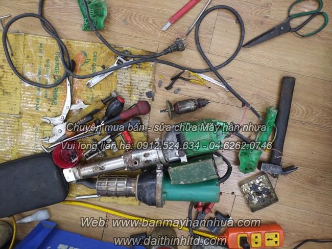 Sửa chữa bảo dưỡng máy hàn nhiệt nhựa đùn
