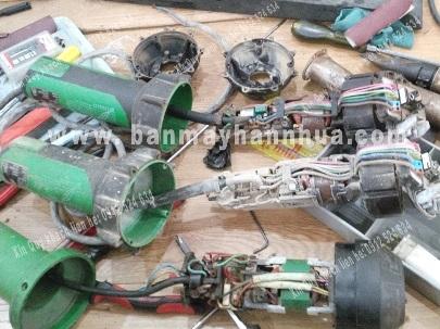 Sửa chữa máy hàn nhựa cầm tay - máy hàn bạt nhựa, máy hàn sàn nhựa, máy hàn ống nhựa tấm nhựa